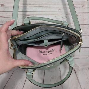 kate spade Bags - Kate Spade Sylvia Lg Dome Satchel Light Pistachio